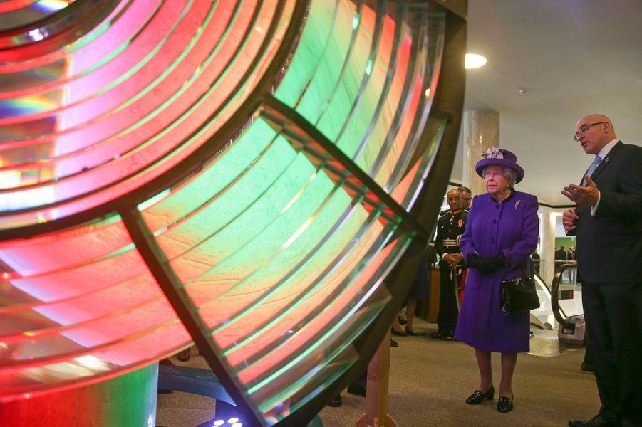 La reine Elizabeth II à Londres, le 6 mars 2018