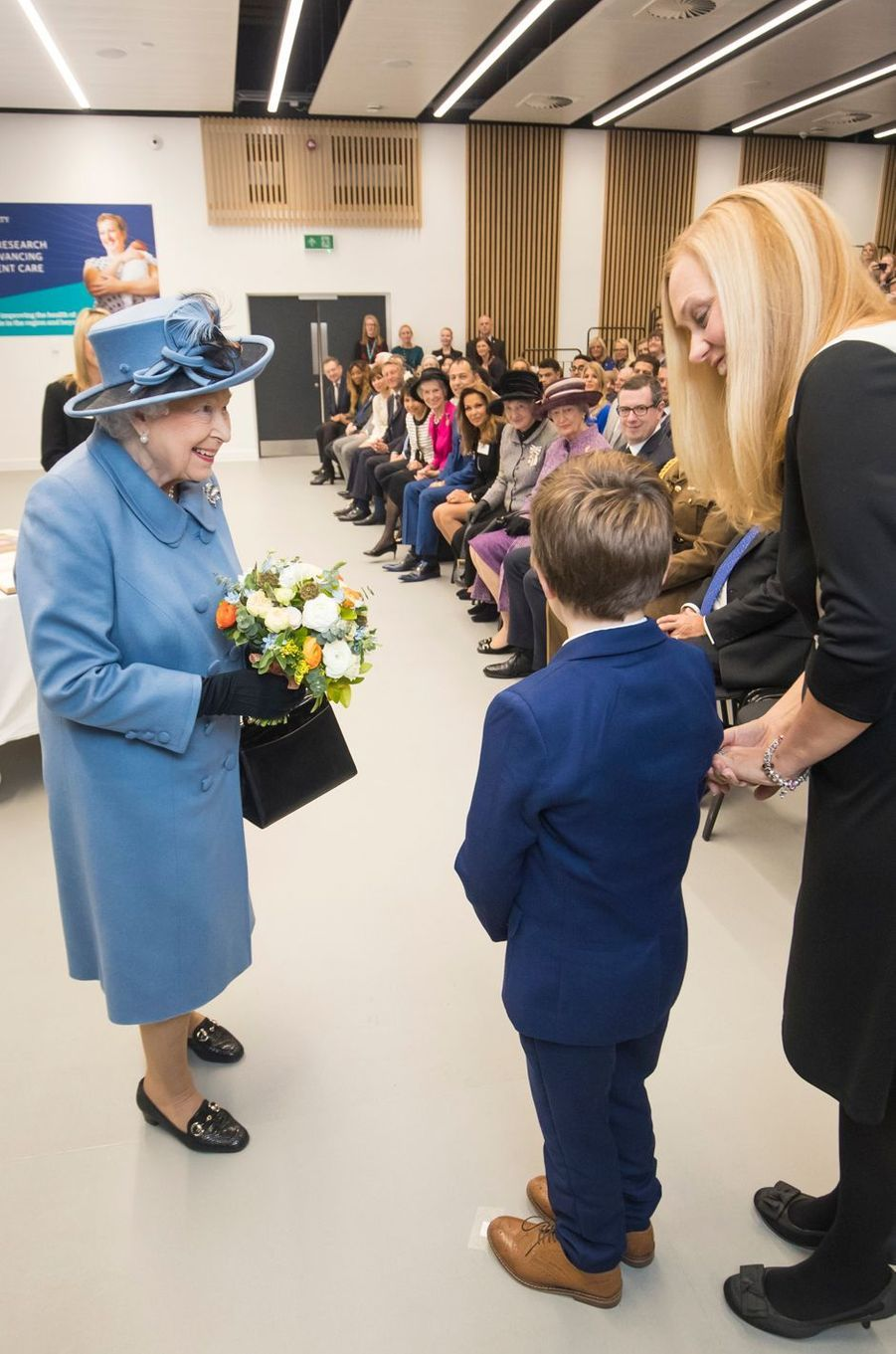 La reine Elizabeth II à Kingston-upon-Hull, le 16 novembre 2017