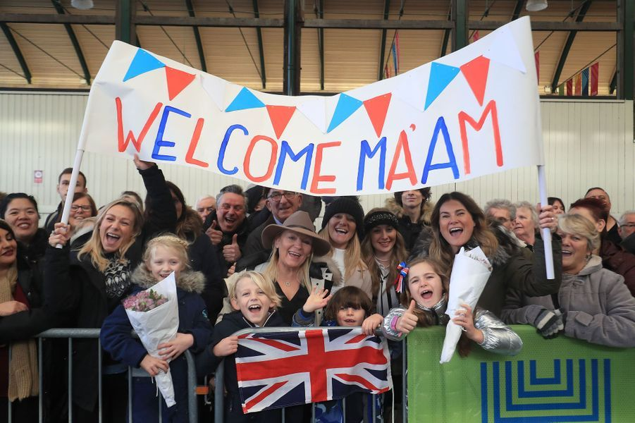Accueil de la reine Elizabeth II à Hull, le 16 novembre 2017