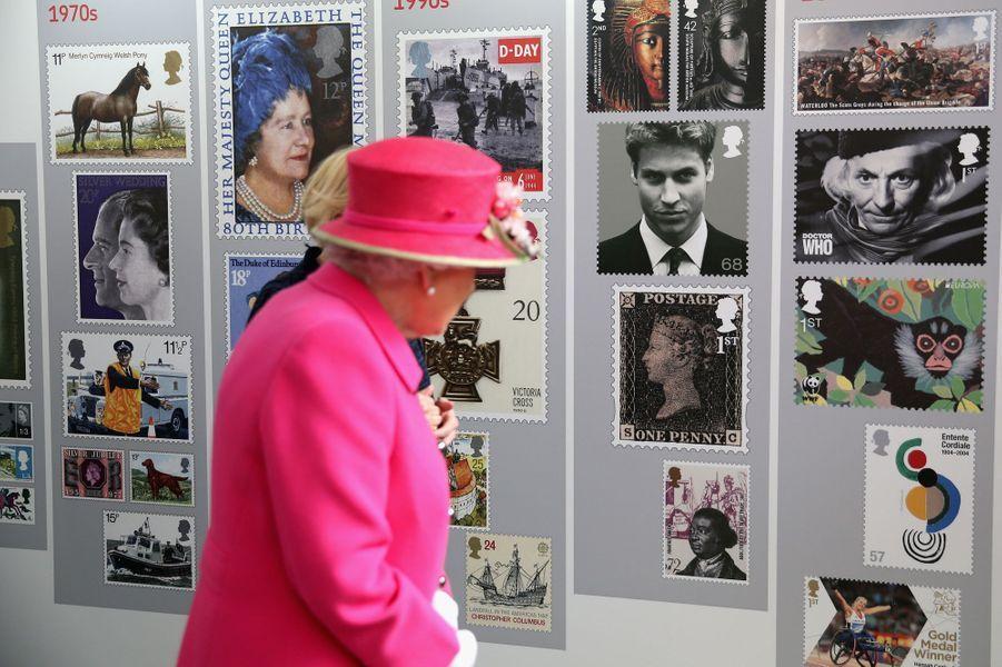 La reine Elizabeth II à Windsor, le 20 avril 2016