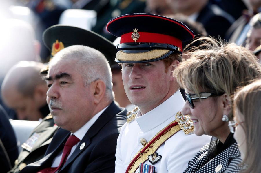 Le prince Hary au Canakkale Martyrs' Memorial à Gallipoli, le 24 avril 2015