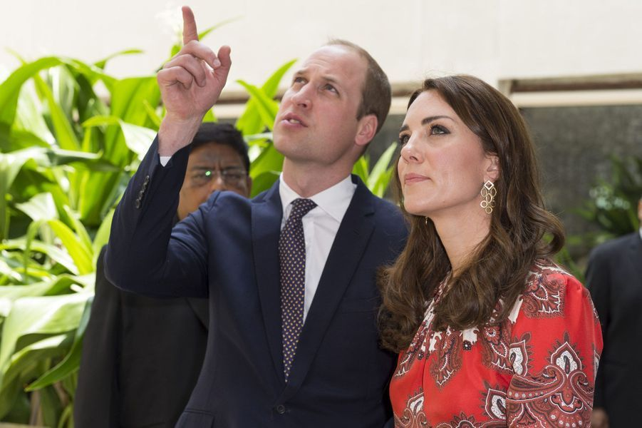 Kate et William au Taj Hotel