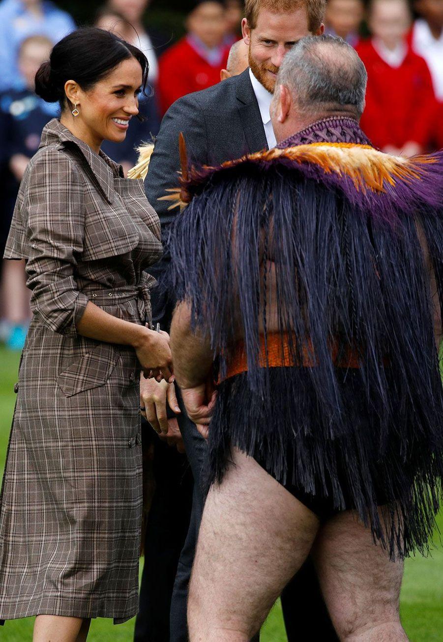 Le prince Harry et Meghan en Nouvelle-Zélande
