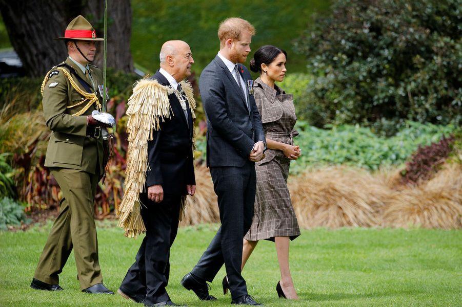 Le prince Harry et Meghan sont arrivés en Nouvelle-Zélande