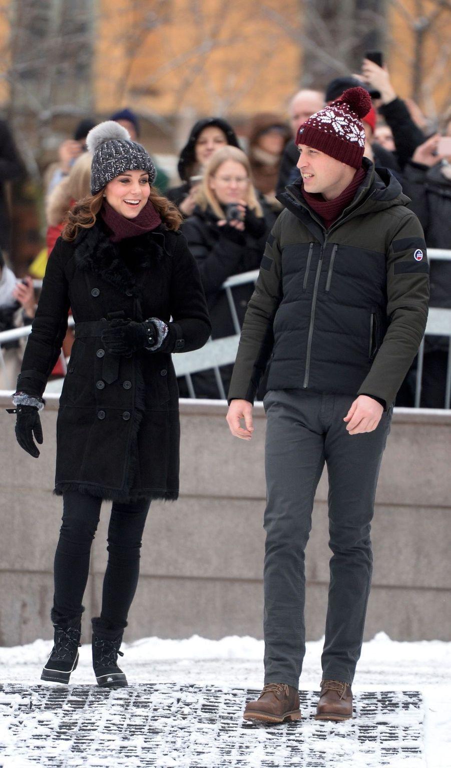 Kate Et William Dans Le Froid De L'hiver Suédois 10