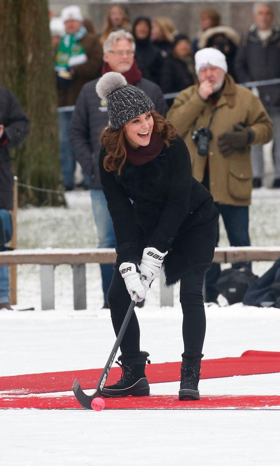 Kate Et William Dans Le Froid De L'hiver Suédois 13