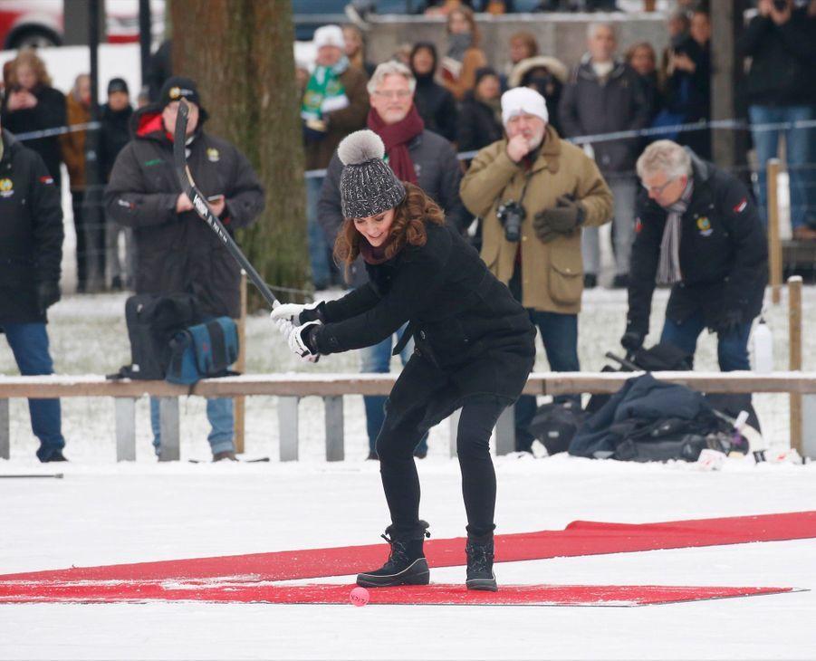 Kate Et William Dans Le Froid De L'hiver Suédois 14