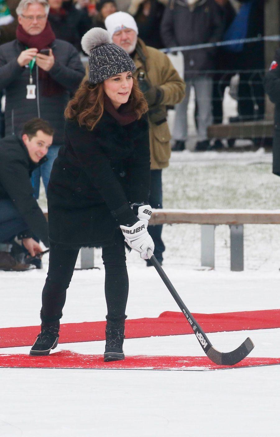 Kate Et William Dans Le Froid De L'hiver Suédois 15