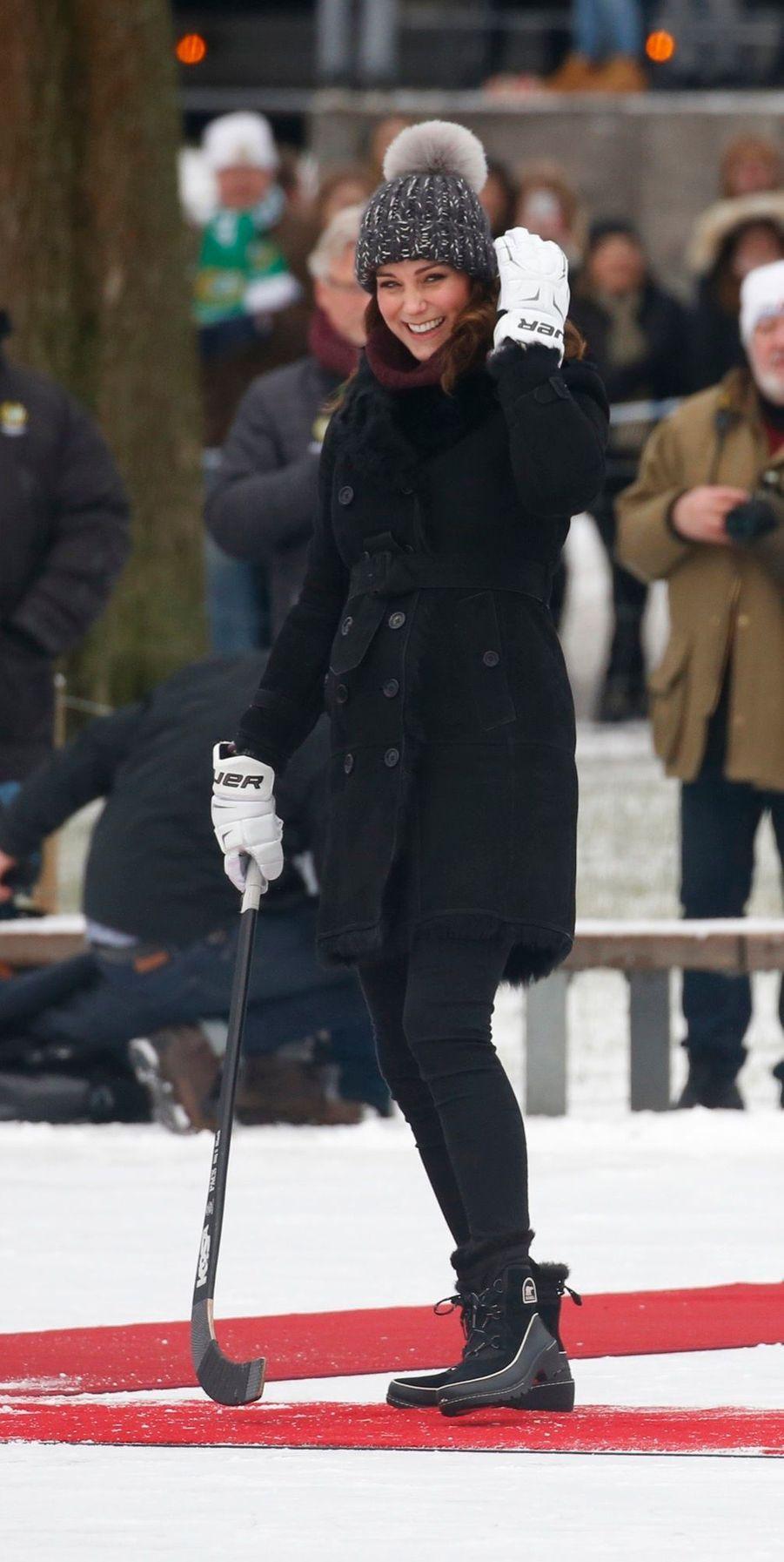 Kate Et William Dans Le Froid De L'hiver Suédois 16