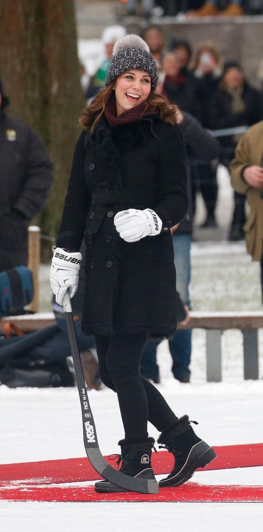 Kate Et William Dans Le Froid De L'hiver Suédois 17