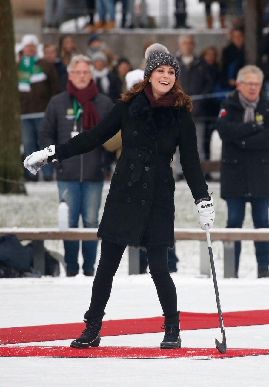 Kate Et William Dans Le Froid De L'hiver Suédois 18