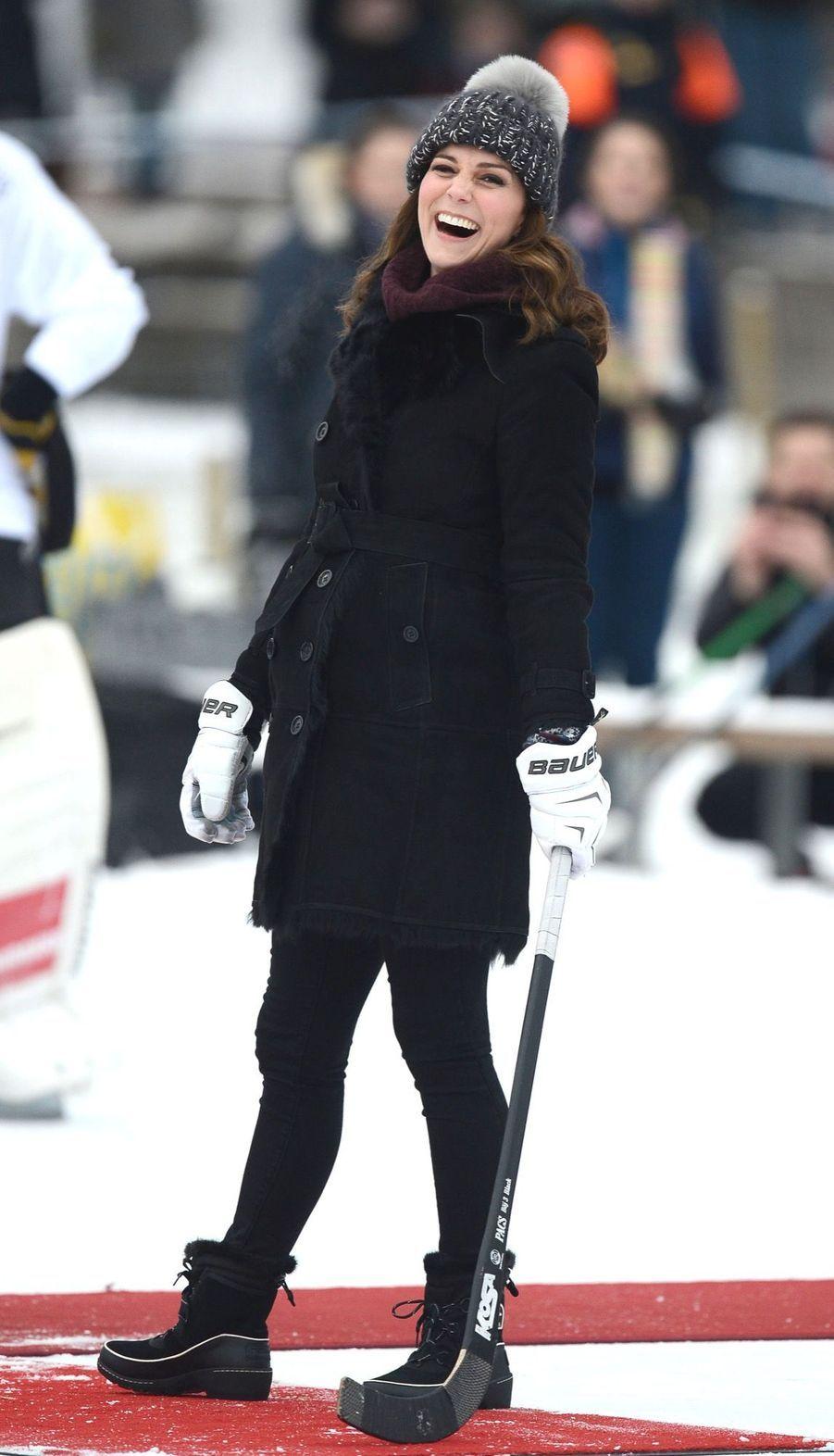 Kate Et William Dans Le Froid De L'hiver Suédois 19