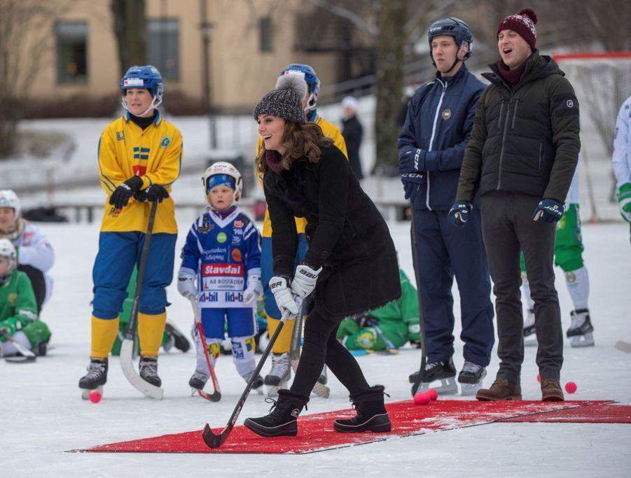 Kate Et William Dans Le Froid De L'hiver Suédois 20