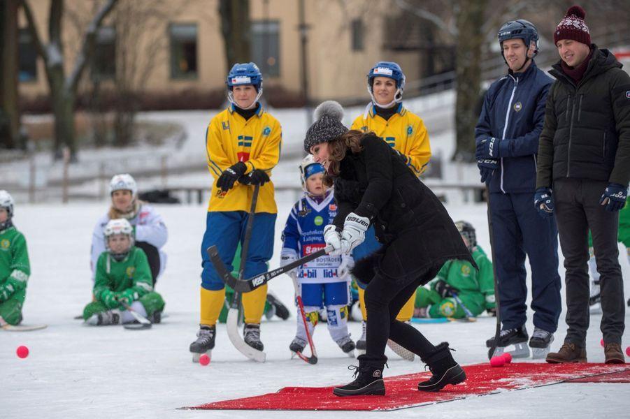 Kate Et William Dans Le Froid De L'hiver Suédois 22