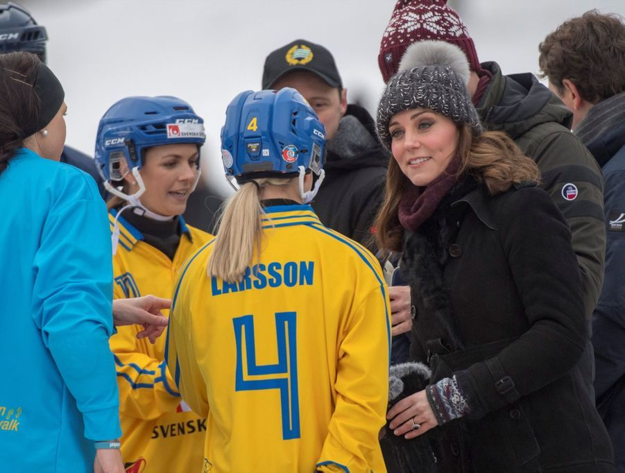 Kate Et William Dans Le Froid De L'hiver Suédois 23