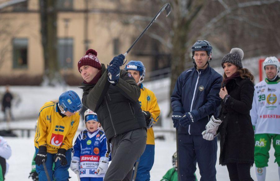 Kate Et William Dans Le Froid De L'hiver Suédois 24