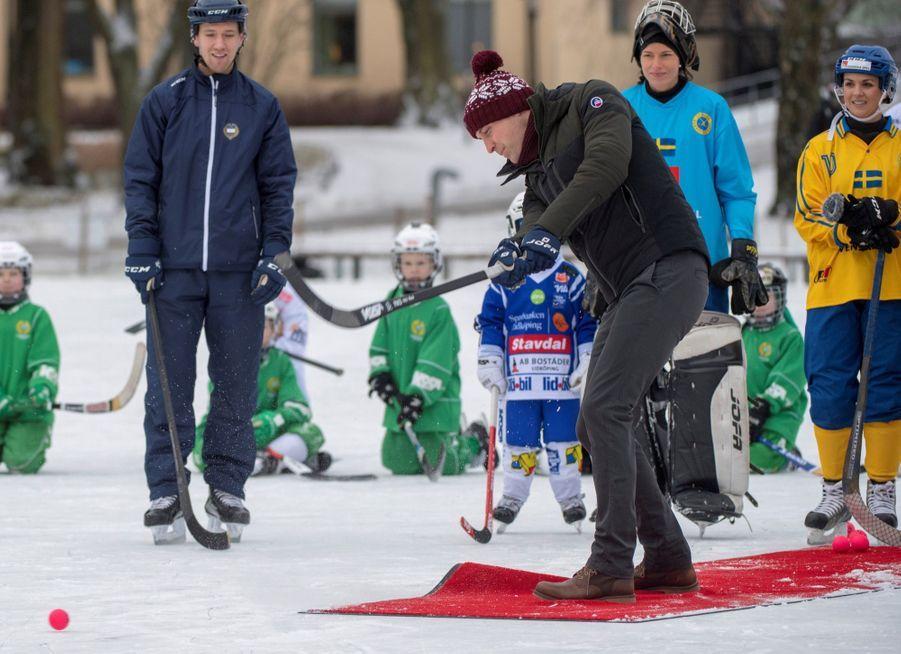 Kate Et William Dans Le Froid De L'hiver Suédois 26