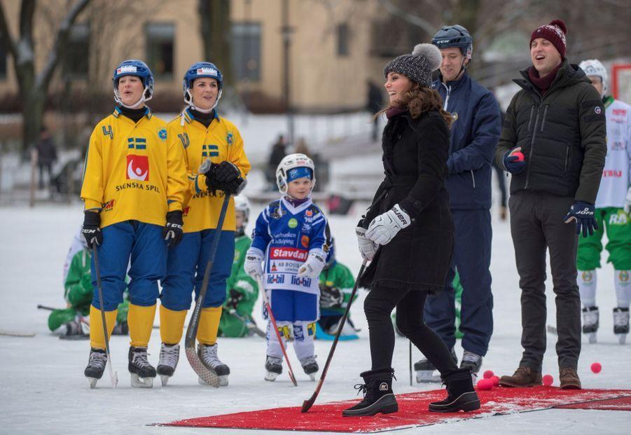 Kate Et William Dans Le Froid De L'hiver Suédois 27