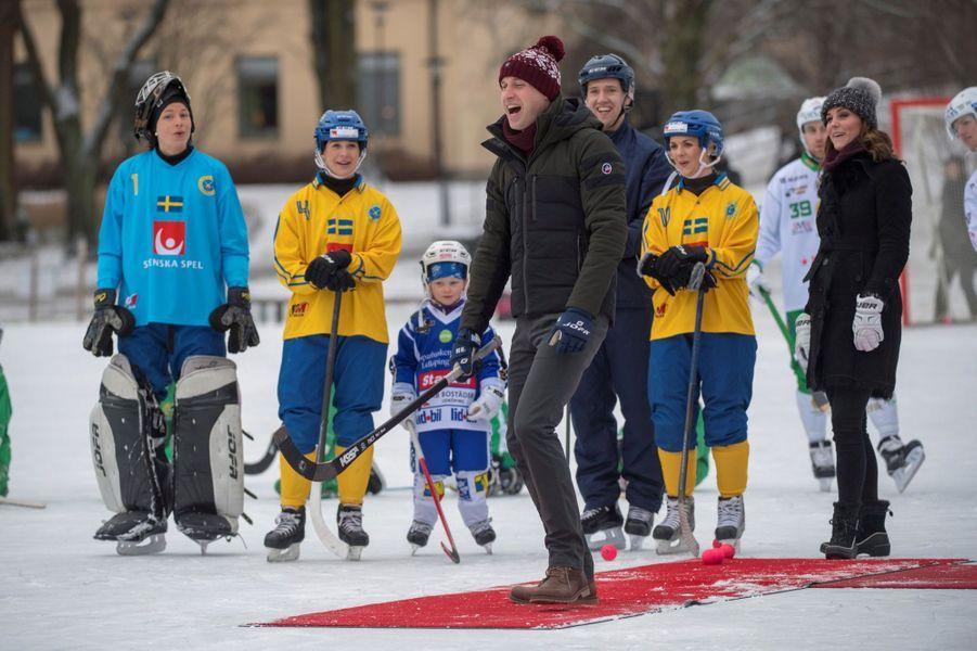 Kate Et William Dans Le Froid De L'hiver Suédois 28