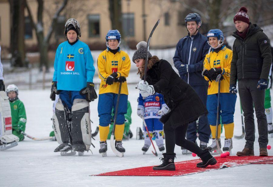 Kate Et William Dans Le Froid De L'hiver Suédois 29