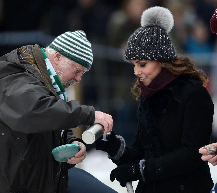 Kate Et William Dans Le Froid De L'hiver Suédois 3