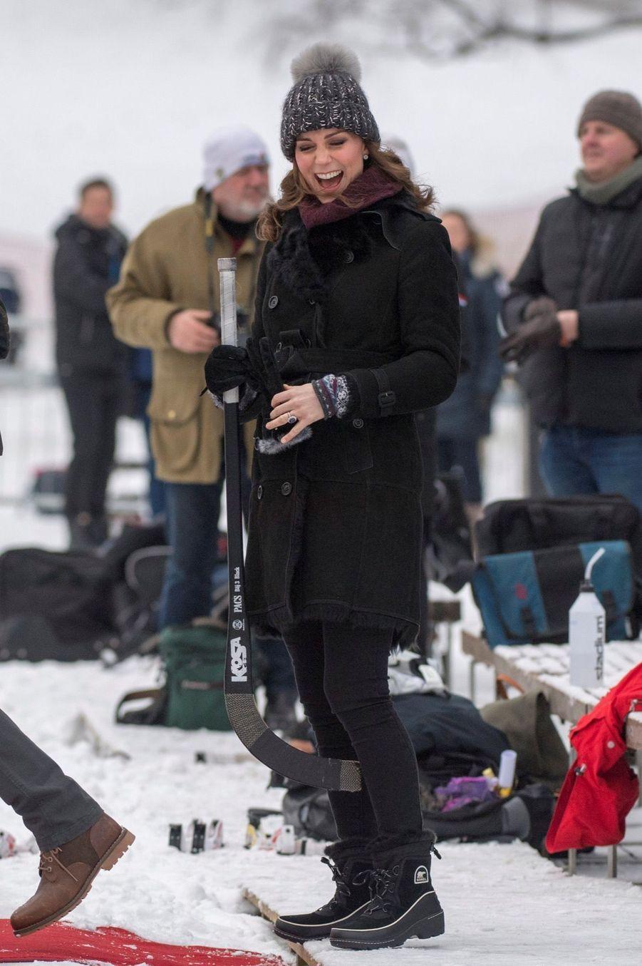 Kate Et William Dans Le Froid De L'hiver Suédois 30