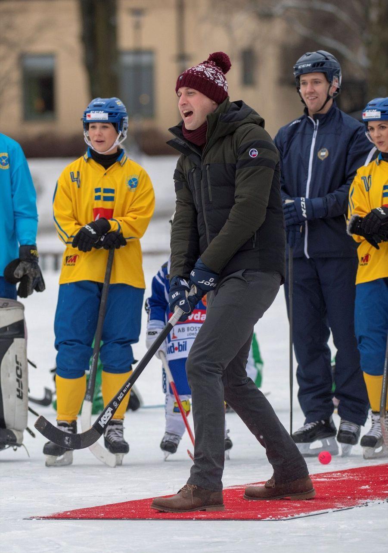 Kate Et William Dans Le Froid De L'hiver Suédois 31