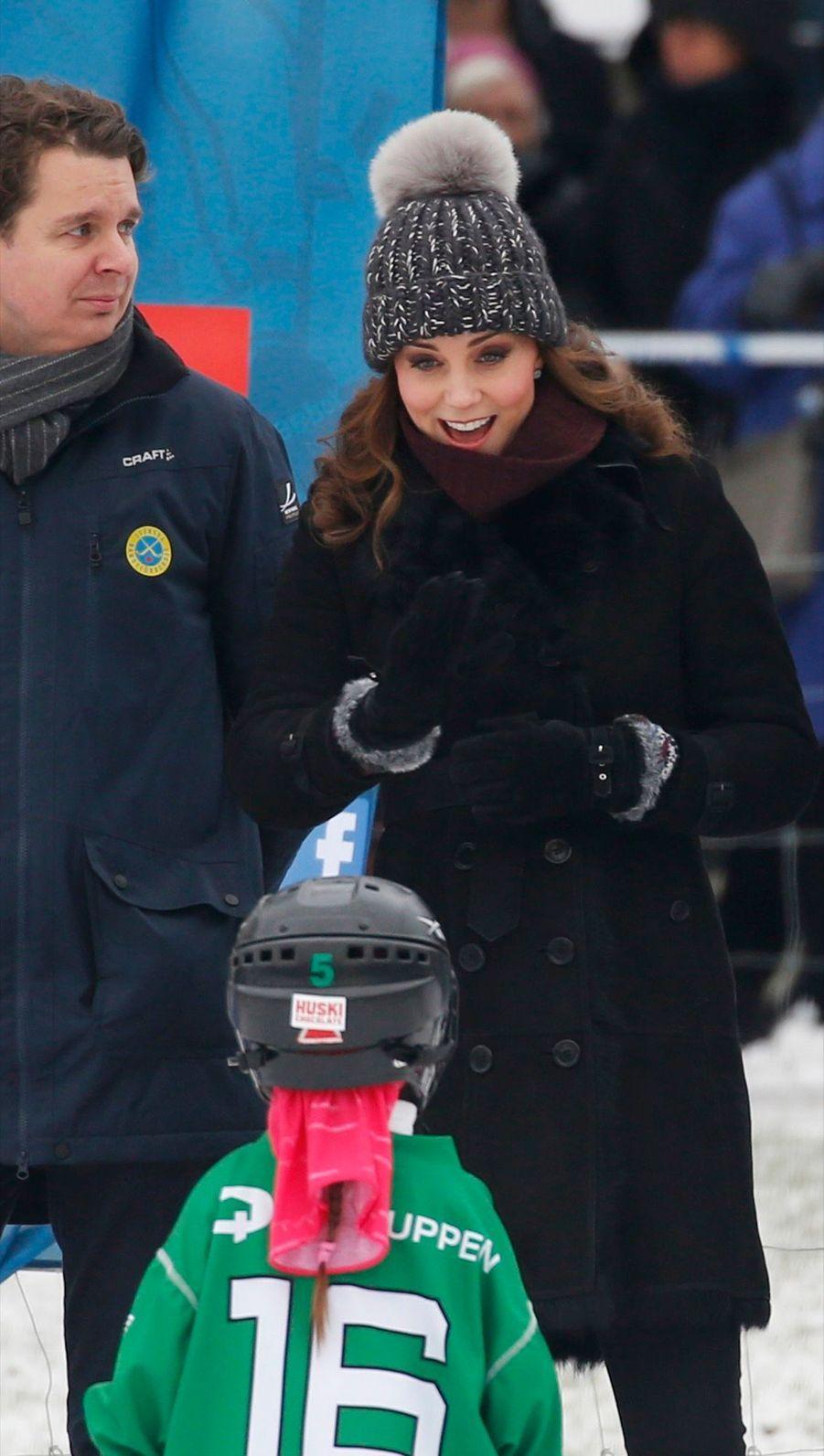 Kate Et William Dans Le Froid De L'hiver Suédois 32