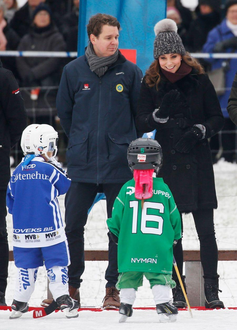 Kate Et William Dans Le Froid De L'hiver Suédois 33