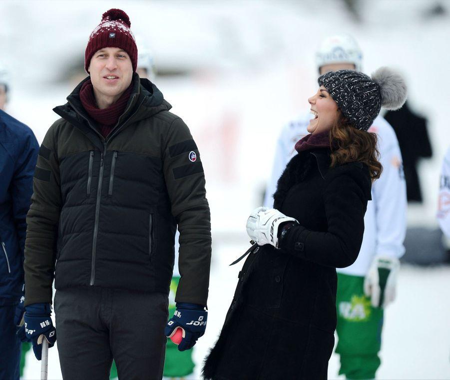 Kate Et William Dans Le Froid De L'hiver Suédois 34