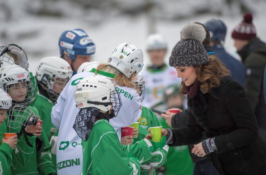 Kate Et William Dans Le Froid De L'hiver Suédois 35