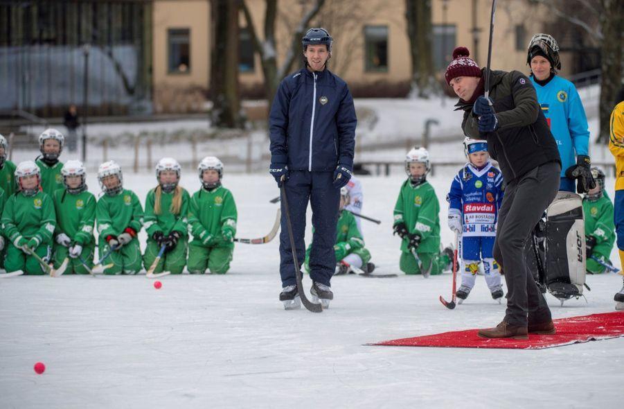 Kate Et William Dans Le Froid De L'hiver Suédois 36