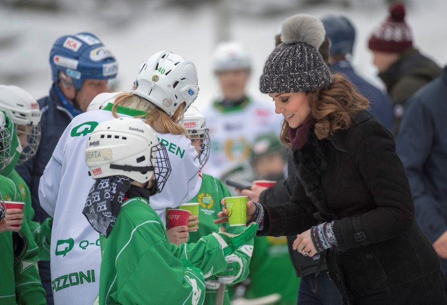 Kate Et William Dans Le Froid De L'hiver Suédois 37