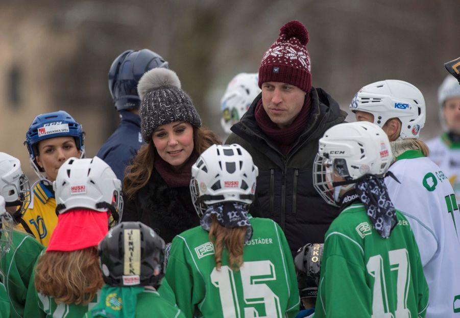 Kate Et William Dans Le Froid De L'hiver Suédois 38