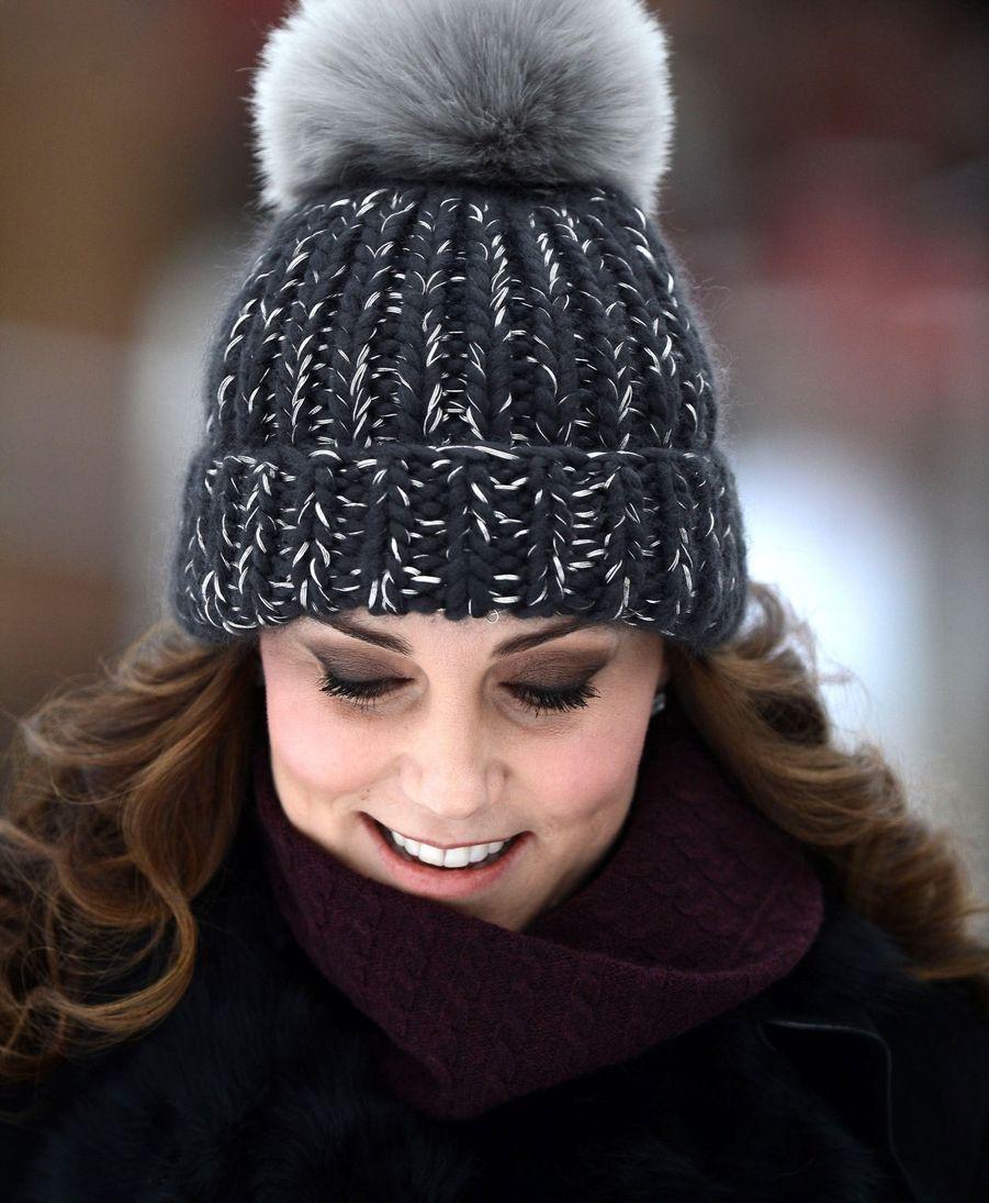 Kate Et William Dans Le Froid De L'hiver Suédois 6