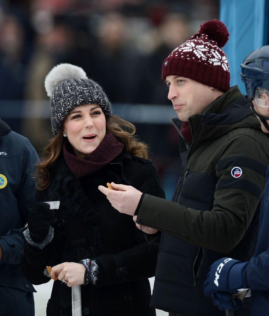 Kate Et William Dans Le Froid De L'hiver Suédois 8