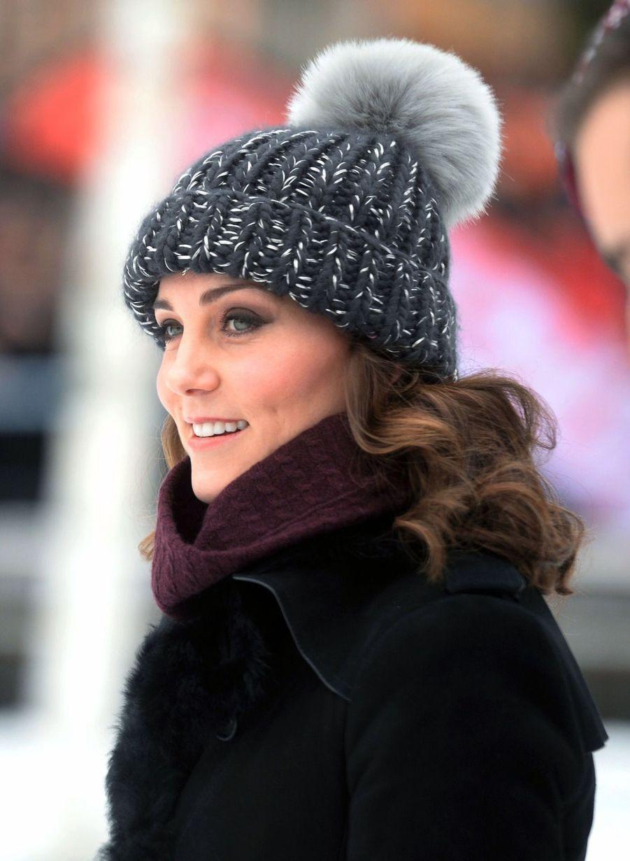 Kate Et William Dans Le Froid De L'hiver Suédois 9