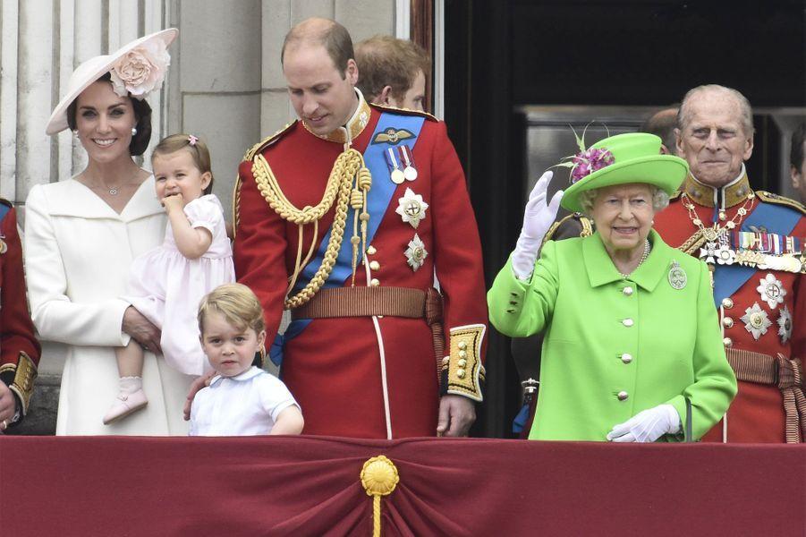 La duchesse de Cambridge en famille