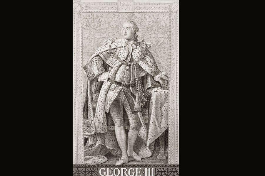 Frédéric ayant perdu la vie avant son père, c'est le petit-fils de George II qui devint roi. Premier monarque anglais à être né sur le sol britannique, il est encore aujourd'hui connu sous le nom de «Mad King George» (George le roi fou), à cause des problèmes mentaux dont il souffrit à la fin de sa vie. Avant de perdre la raison, il était pourtant un roi très populaire en son pays, notamment grâce à ses valeurs morales. Contrairement à ses prédécesseurs, il n'eut aucune maîtresse et forma un couple uni avec sa femme Sophie Charlotte de Mecklemburg-Strelitz, qui lui donna quinze enfants. C'est lui qui acheta Buckingham House (aujourd'hui le palais de Buckingham) comme résidence secondaire pour sa famille. Mais George III est aussi connu pour avoir perdu les colonies américaines en 1783.