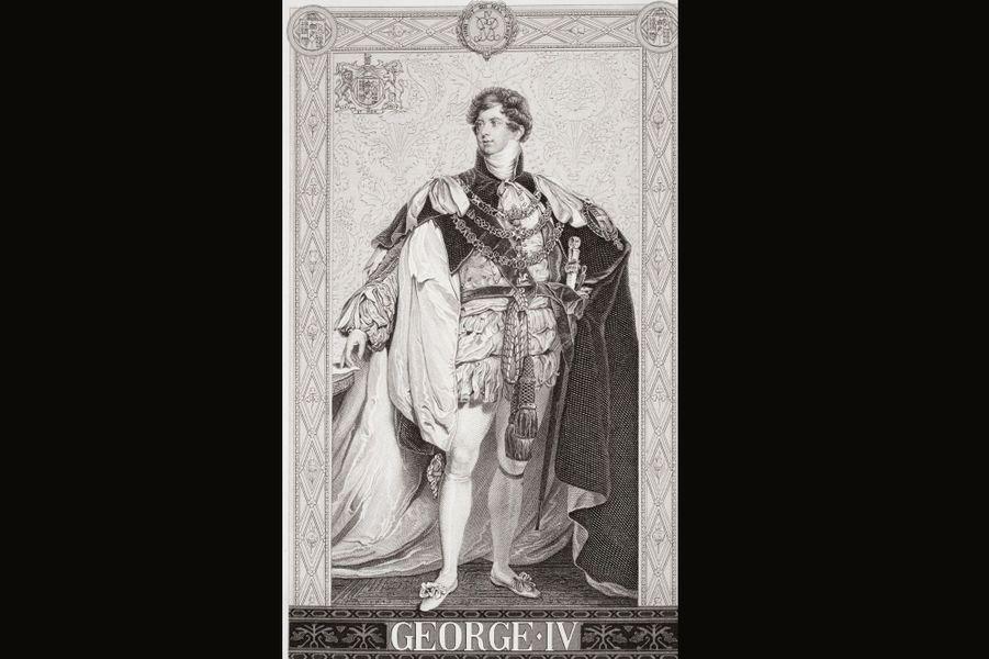 Il fut d'abord prince régent de 1811 jusqu'à la mort de son père et possédait lui aussi un sacré caractère. Contrairement à son père – avec qui il avait des relations compliquées -, il menait une vie dissolue. Cultivé et charmant, il fut surnommé «premier gentleman d'Angleterre». Son attitude, loin d'être modèle, provoqua la colère du peuple, qui voyait d'un très mauvais œil ses dépenses extravagantes. Mais il n'avait que faire des règles et n'hésita pas à épouser illégalement la roturière catholique Maria Anne Fitzherbert, dont il tomba amoureux à 21 ans. Lorsque son père refusa de prendre en charge son train de vie, il quitta Carlton House et alla s'installer chez Maria Fitzherbert. Endetté, il fut cependant contraint de revenir vers son père qui accepta de l'aider à condition qu'il épouse sa cousine, la princesse Caroline de Brunswick. Il accepta en 1795 mais l'union fut un véritable désastre. Leur relation était tellement détestable qu'il lui interdit d'assister à son couronnement en 1821. A sa mort en 1830, il était si impopulaire que le «Times» titra: «Il n'y a jamais eu une personne moins regrettée par ses semblables que ce roi défunt. Quel œil a pleuré pour lui?»