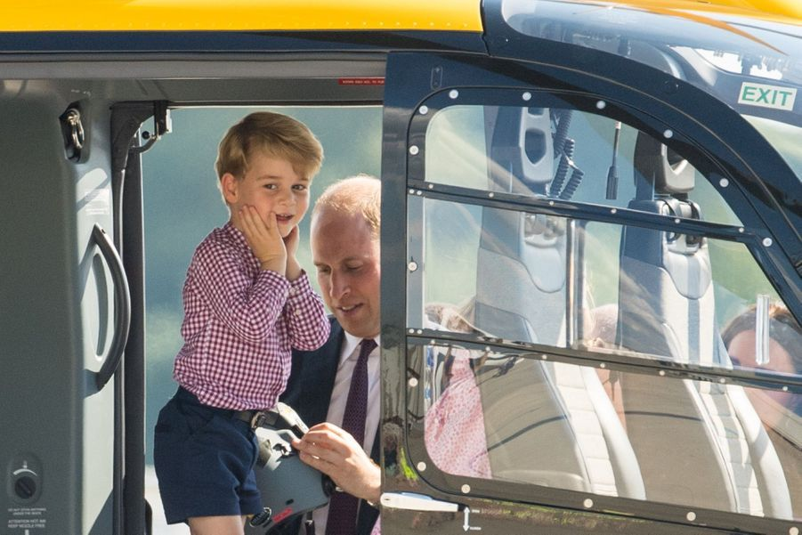 George, Charlotte, Kate Et William Disent Au Revoir À L'Allemagne 27