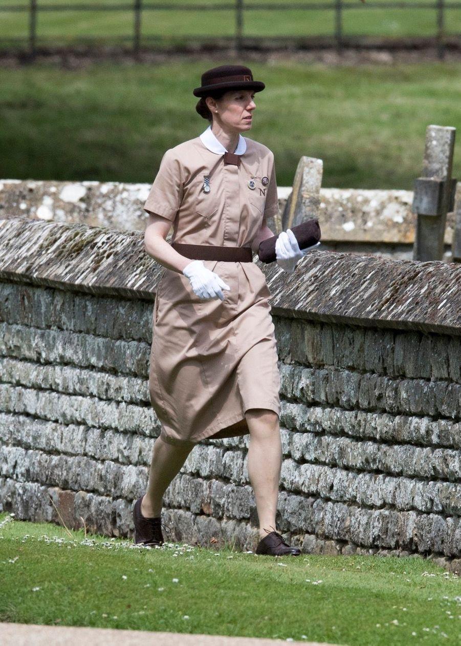 La Nounou Du Prince George Et De La Princesse Charlotte, Maria Borrallo