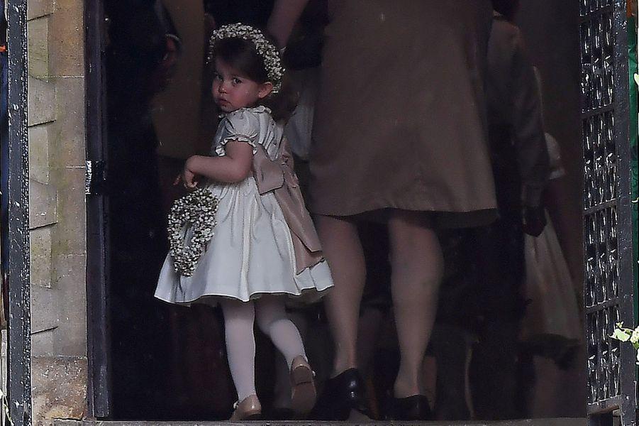 La Princesse Charlotte au mariage de sa tante Pippa Middleton