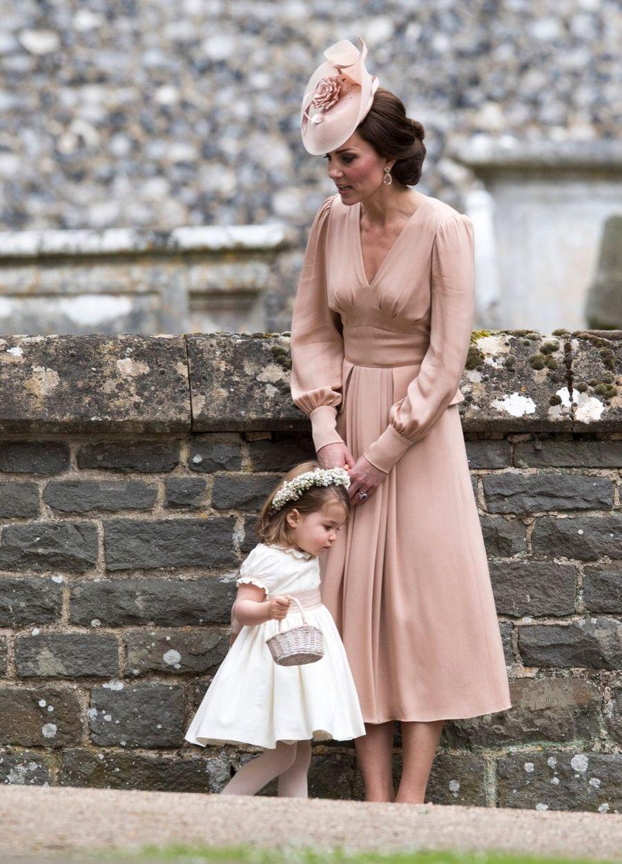 Le Prince George Et La Princesse Charlotte Au Mariage De Leur Tante Pippa Middleton 10