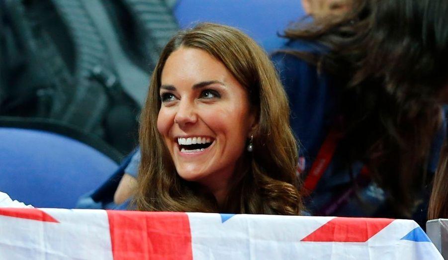 Aout : Kate, médaille d'or du sourire aux J.O.