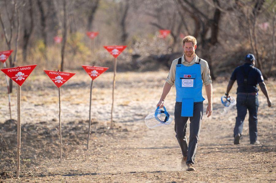 Le Prince Harry marche dans les pas de Diana