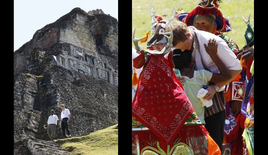 Au temple Maya de Xunantunich