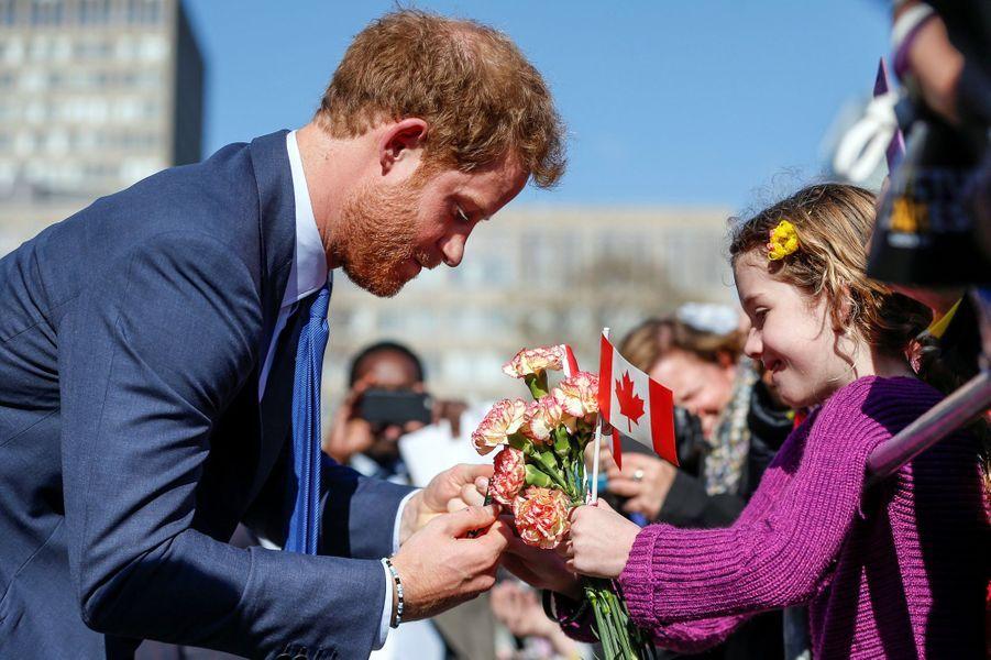 Le prince Harry à Toronto, le 2 mai 2016