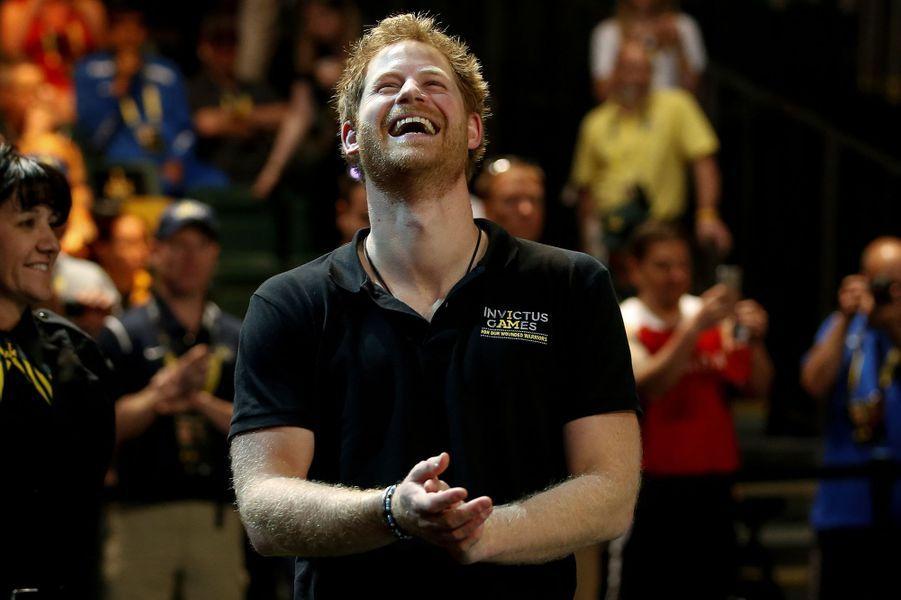 Le prince Harry aux Invictus Games à Orlando, le 9 mai 2016