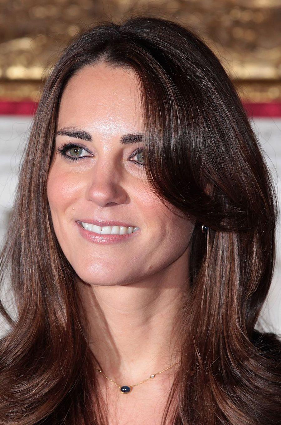 Kate Middleton aupalais Saint JamesàLondres le 16 novembre 2010